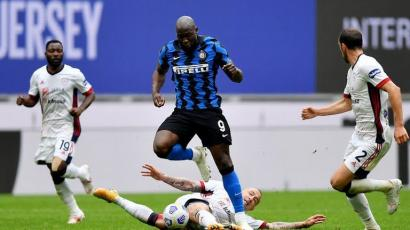 Inter Milan Susah Payah Hadapi Cagliari