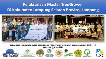 Pelatihan Master TreeGrower dan Secercah Harapan bagi Petani Kayu