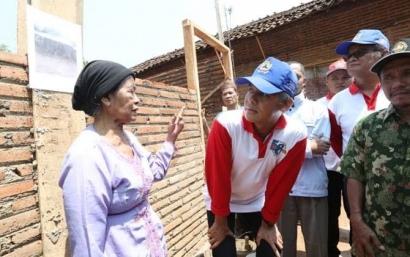 Tujuh Tahun Dipimpin Ganjar, 319.694 Rumah Tak Layak Huni Direnovasi
