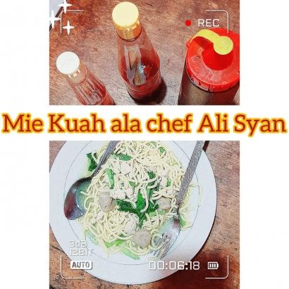Mie Kuah Khas Chef Alakadarnya, Menu Berbuka Puasa Spesial