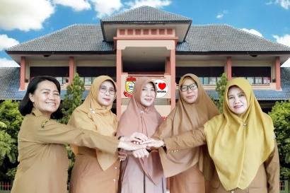 Kartini-kartini UPT SPF SDN Mangkura Makassar