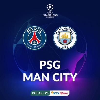 Duel Sengit PSG vs Man City, Siapa Pemenangnya?