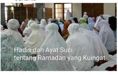Tujuan Berpuasa dan Keistimewaan Ramadan yang Kuingat Pada Hadis dan Ayat Suci Al Quran