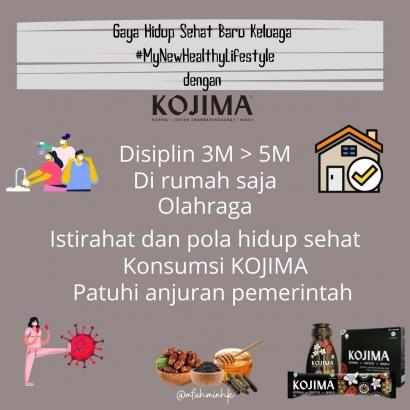 Gaya Hidup Sehat Baru Keluarga #MyNewHealthyLifestyle dengan Kojima