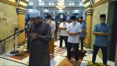 Alhamdulillah, Salat Idul Fitri di Masjid Agung Baitussalam Purwokerto Khusyuk dan Tertib