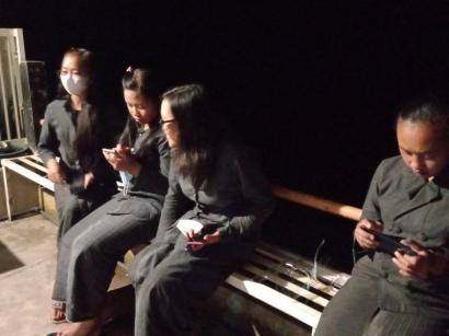 Empat Gadis Desa Jelita di Vihara