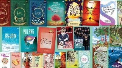 Mengisi Waktu Luang dengan Membaca Novel Karya Tere Liye