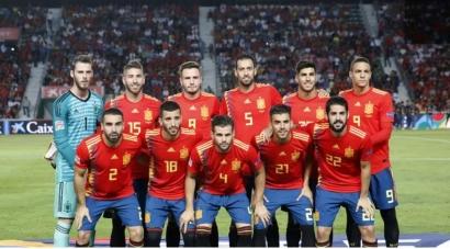 Timnas Spanyol Dulu Favorit Juara, Kini Tidak Masuk Daftar Unggulan Juara Euro 2021