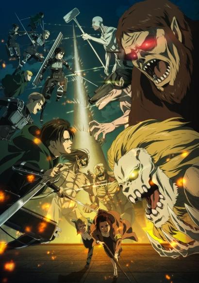 Attack on Titan Season 4 Part 2 Keluarkan Visual Terbaru