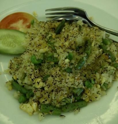 Nasi Goreng Vegetarian, Kaya Sayuran dan Segar