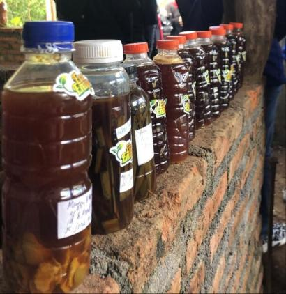Sosialisasi dalam Rangka Launching Eco Enzyme Desa Tulungrejo Kota Batu