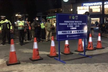 Dilarang Keluar Masuk Jakarta Selama PPKM Darurat