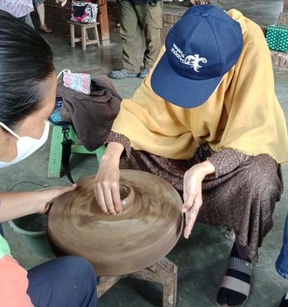 Mengunjungi Dusun Klipoh, Desa Wisata Perajin Gerabah, Tidak Jauh dari Candi Borobudur