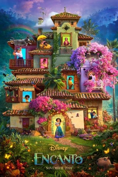 """Disney Kenalkan Putri Amerika Latin Lewat Animasi Mendatang """"Encanto"""""""