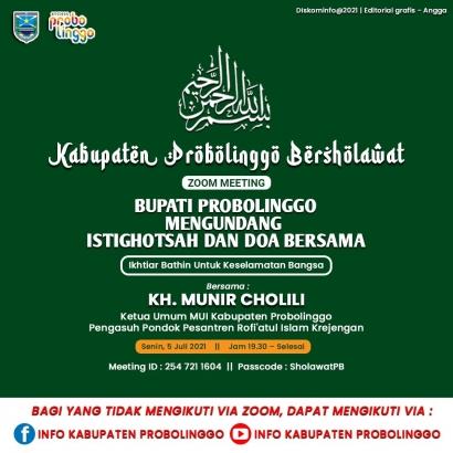 Kabupaten Probolinggo Bersholawat, Ikhtiar Batin untuk Keselamatan Bangsa