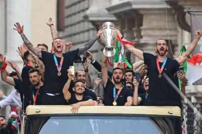 """Italia Juara Eropa karena """"Bantuan"""" Pandemi Covid-19"""