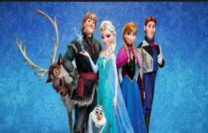 Frozen, Film Fantasi Musikal Animasi Favorit Keluarga Kami