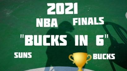 """NBA Finals 2021: """"Bucks in 6"""" dan Cerita Lainnya!"""