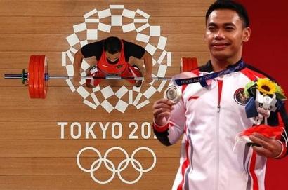 Eko Yuli Persembahkan Medali Perak