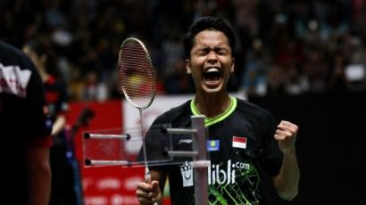 Ginting Menutup Perjuangan Tim Bulutangkis Indonesia Dengan Mempersembahkan Medali Perunggu Olimpiade Tokyo 2020
