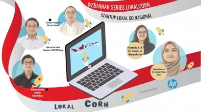 LokalCorn Startup Lokal Go Nasional_Tri Sapta Marsiawati