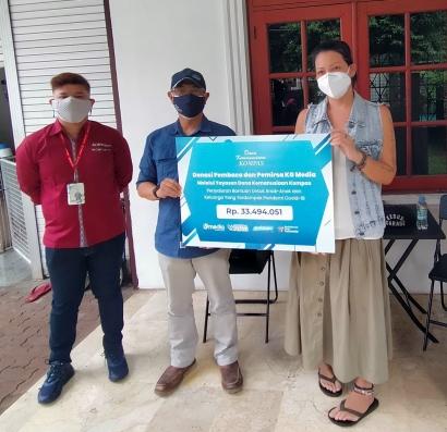KG Media Salurkan Hasil Penggalangan 17-an se-Indonesia kepada Rumah Harapan Melanie