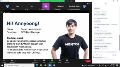 LintasPreneur 2021: Kpop Membawa Daniel Hermansyah Membangun Kesuksesannya