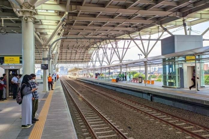 Terpesona Melihat Wajah Baru Stasiun Manggarai
