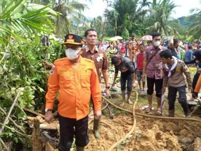 Peringatan 12 Tahun Gempa Itu dengan Musibah Banjir dan Longsor