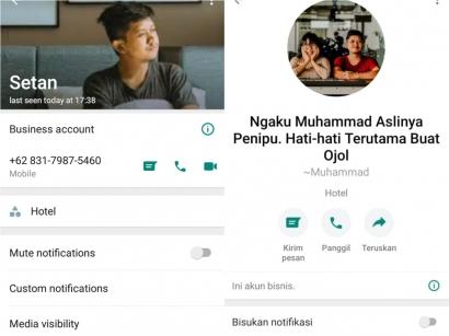 Waspada! No HP 083179875460 Mencuri Foto Kami untuk Menipu Driver Ojol Jawa Timur