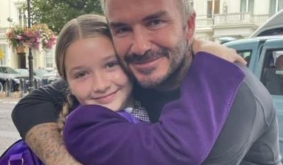 Hubungan Ayah dengan Anak Perempuan ala David Beckham