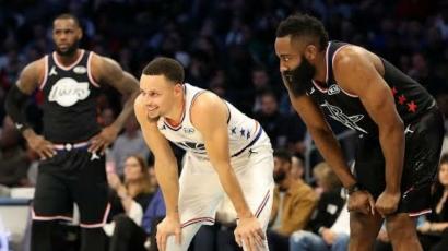 NBA: James Harden dan Stephen Curry Jadi Kandidat Kuat MVP Season 2021-22?