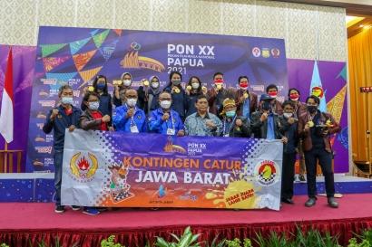 Jawa Barat Juara Umum Cabang Olahraga Catur PON Papua 2021