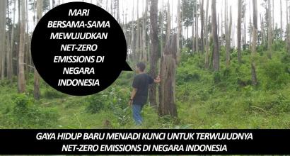 Gaya Hidup Baru Menjadi Kunci untuk Terwujudnya Net-Zero Emissions di Negara Indonesia