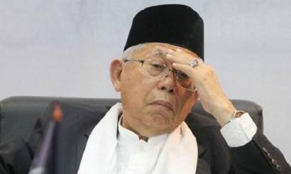 Mayoritas Publik Tak Puas terhadap Kinerja Wapres Maaruf Amin