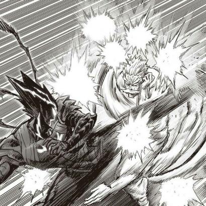One Punch-Man Chapter 150: Pertarungan Garou Melawan Bang Berlanjut