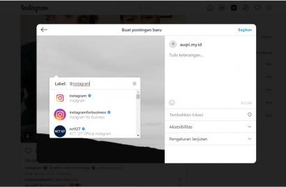 Instagram Memungkinkan Pengguna untuk Unggah Foto dan Video Melalui Desktop