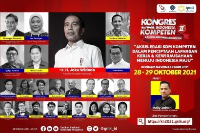 Kembali Digelar! Kongres Nasional Indonesia Kompeten II 2021, Akselerasi Sumber Daya Manusia Indonesia Kompeten