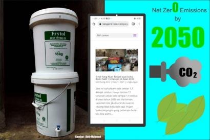 Membuat Komposter dan Kampanye Lewat Blog, Caraku Mewujudkan Net Zero Emissions di 2050