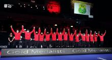 Gambar Artikel Kemenangan Tim Bulu Tangkis Indonesia di Piala Thomas 2021 Tanpa Merah Putih?