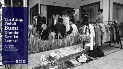 Thrift Shopping, Aksiku Dukung NZE Dimulai dari Isi Lemari
