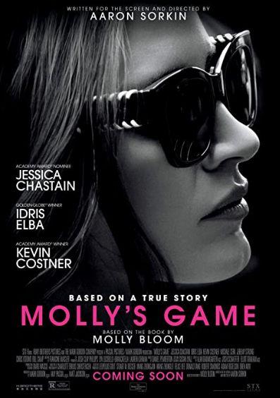 """Kehidupan Mantan Atlet yang Menjadi Bandar Judi dalam Film """"Molly's Game"""""""
