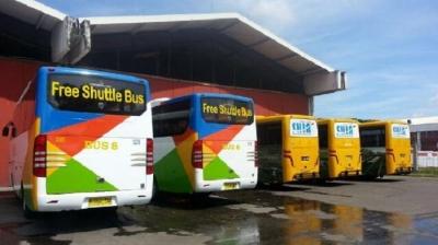 Bus Feeder Mudahkan Penumpang di Bandara Soetta