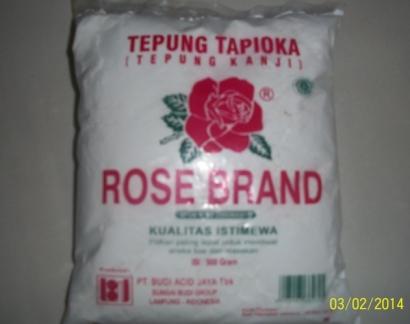 Mengenal Karakteristik Tepung Tapioka