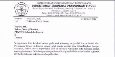 Publikasi Karya Ilmiah Perguruan Tinggi Indonesia Jauh di Bawah Malaysia