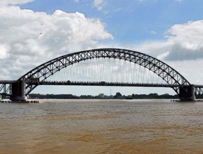 Jembatan Batanghari II Terancam Ambruk