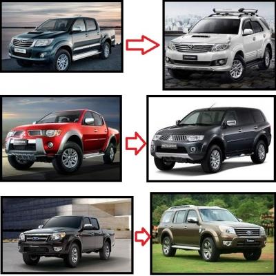 Laris Manis MPV/SUV Modifikasi dari Mobil Angkutan