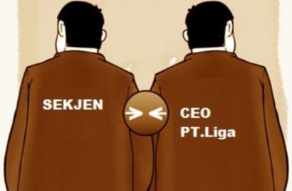 Dilema Rangkap Jabatan Sekjen PSSI & CEO PT Liga