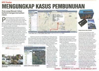 GPS Tracker Pelacak Mobil, Bantu Masyarakat Ungkap Pencurian dan Pembunuhan