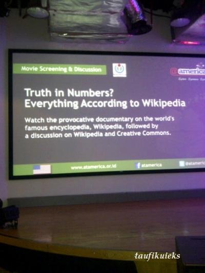 Menelanjangi Wikipedia dengan Film Truth in Numbers